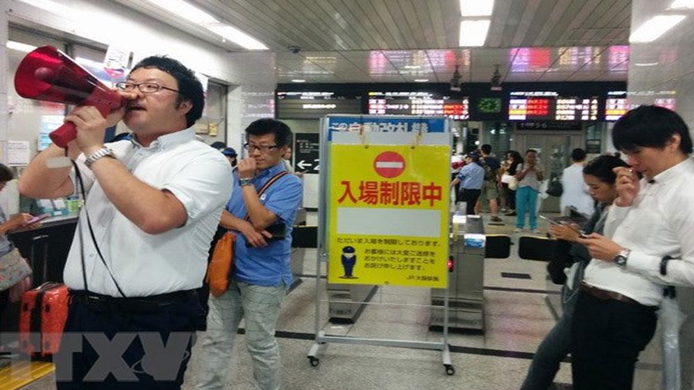 Số người bị thương tiếp tục tăng mạnh trong trận động đất tại Nhật Bản